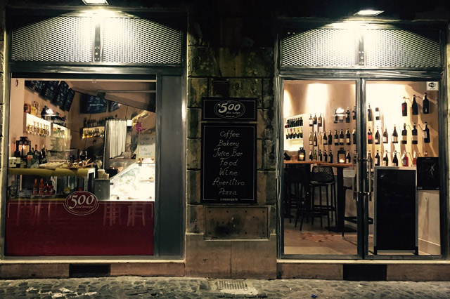 Aperitivo 500 Food Boutique Roma