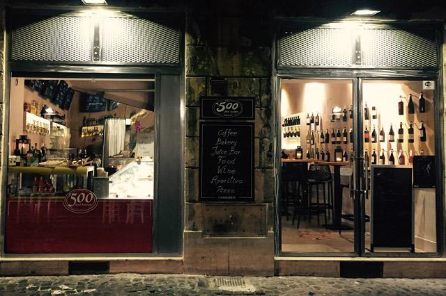 Aperitivo 500 Food Boutique Roma