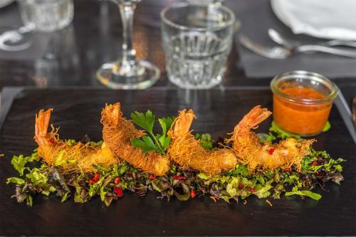 I nostri Gamberi in tempura - Geco Roma